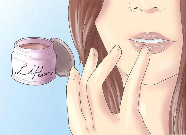 Prent getiteld Maak jou lippe goed (vir meisies) Stap 4