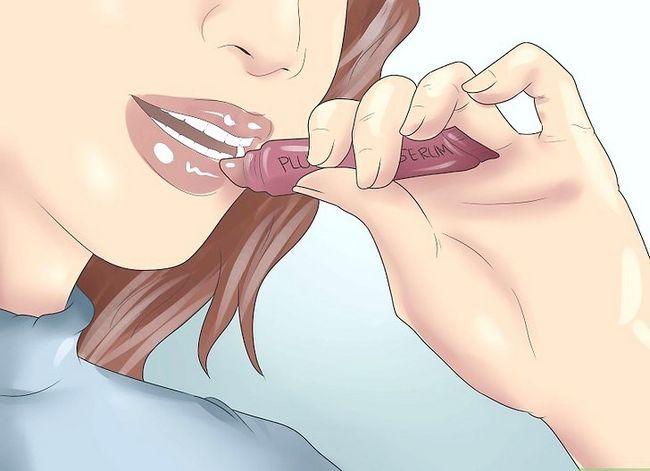 Prent getiteld Maak jou lippe goed (vir meisies) Stap 6