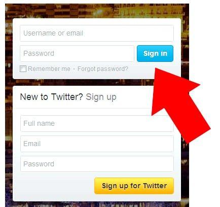 Prent getiteld Stop Twitter Stuur nuwe volgerboodskappe Stap 1