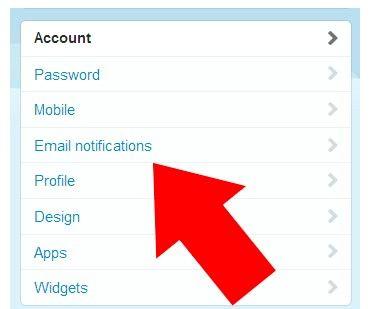 Prent getiteld Stop Twitter Stuur nuwe volgerboodskappe Stap 3