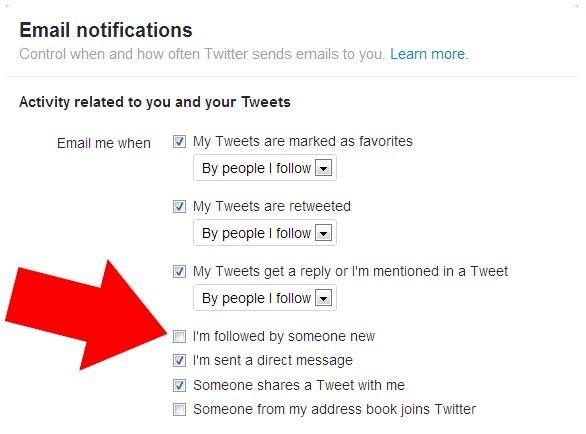Prent getiteld Stop Twitter Stuur nuwe volgerboodskappe Stap 4
