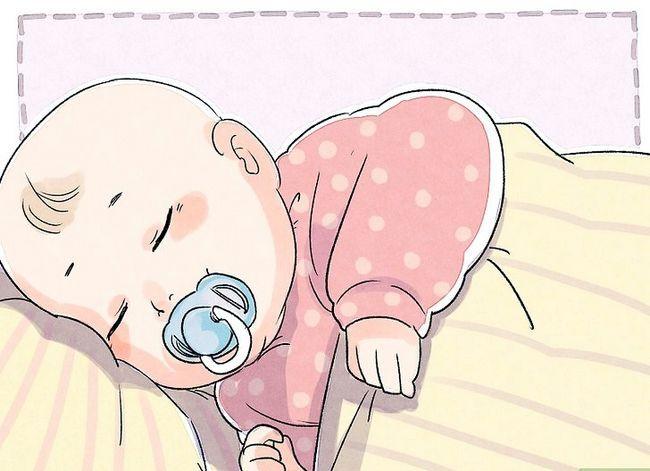 Prent getiteld Kalm `n Fussy Baby Stap 6