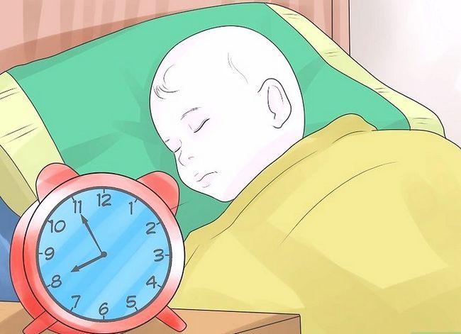 Prent getiteld Get a Baby to Sleep Stap 18