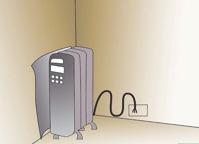 Prent getiteld Warm `n kamer op Stap 2