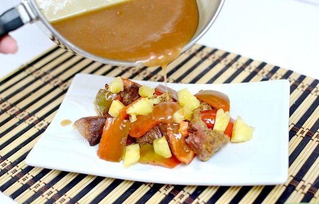 Prent getiteld Maak Sweet and Sour Sauce Intro