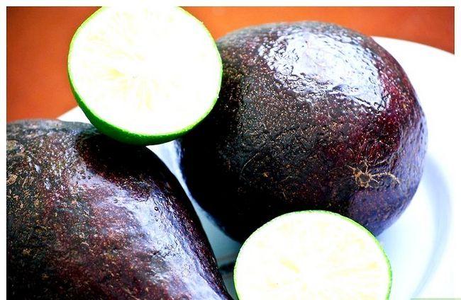 Prent getiteld Maak Avokado Dip Stap 2