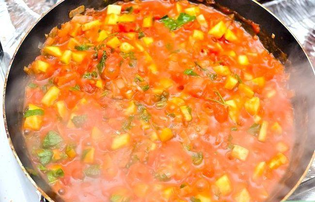Prent getiteld Maak Siciliaanse Tomatensous Stap 14
