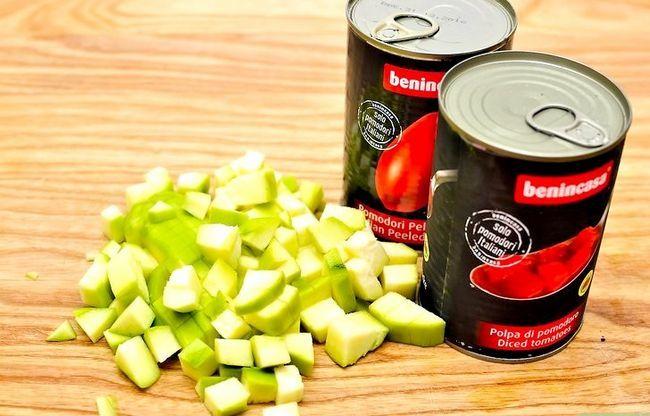 Prent getiteld Maak Siciliaanse Tomatensous Stap 7