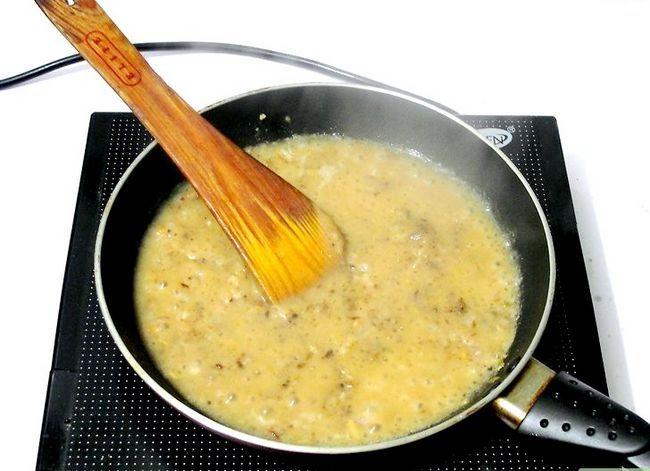 Prent getiteld Maak Vegan Gravy Stap 7