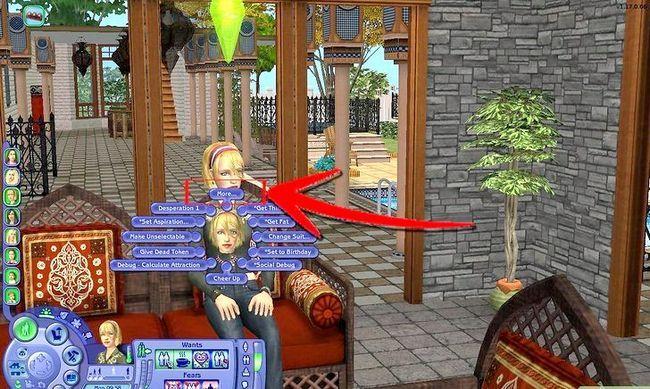 Prent getiteld Maak Alien Sims en Vampiere in Sims 2 Stap 10
