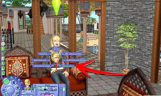 Prent getiteld Maak Alien Sims en Vampiere in Sims 2 Stap 11