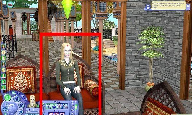 Prent getiteld Maak Alien Sims en Vampires in Sims 2 Stap 12
