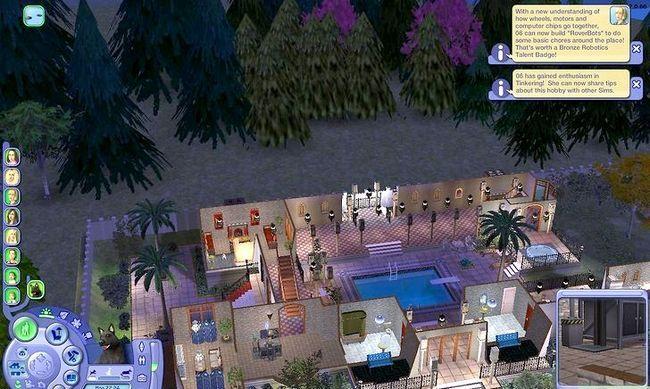 Prent getiteld Maak Alien Sims en Vampiere in Sims 2 Stap 13