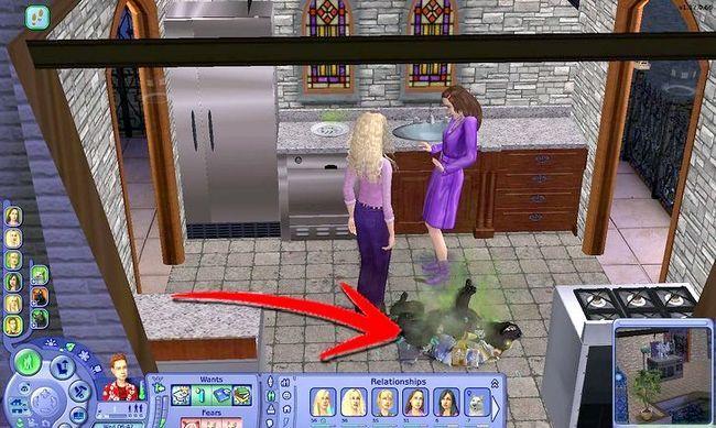Prent getiteld Maak Alien Sims en Vampiere in Sims 2 Stap 16
