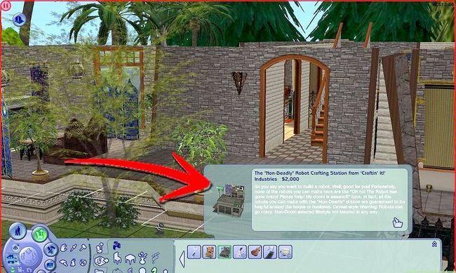 Prent getiteld Maak Alien Sims en Vampiere in Sims 2 Stap 19