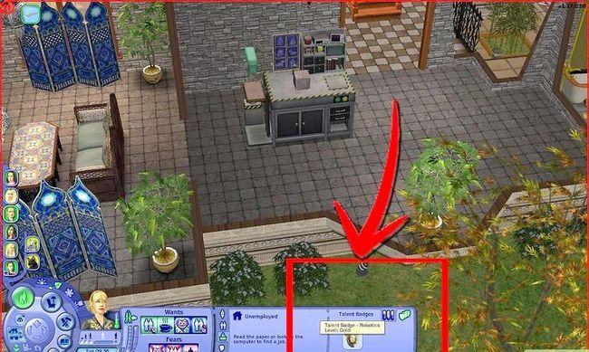 Prent getiteld Maak Alien Sims en Vampiere in Sims 2 Stap 20
