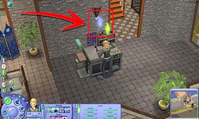Prent getiteld Maak Alien Sims en Vampiere in Sims 2 Stap 22