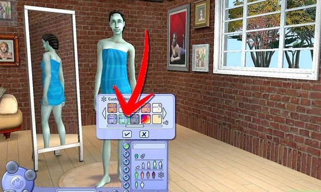 Prent getiteld Maak Alien Sims en Vampiere in Sims 2 Stap 6
