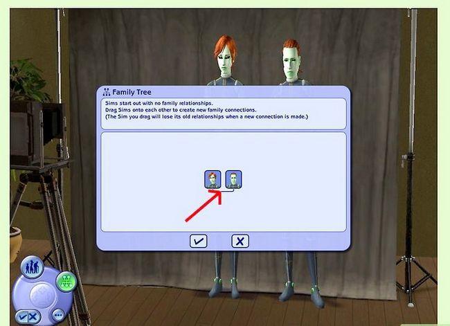 Prent getiteld Maak Alien Sims in die Sims 2 Stap 6