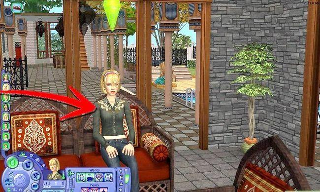Prent getiteld Maak Alien Sims en Vampires in Sims 2 Stap 9