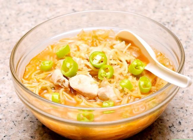 Prent getiteld Maak Hoender Noodle Sop Stap 57