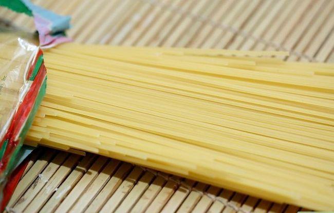 Prent getiteld Maak Spaghetti Tacos Stap 1