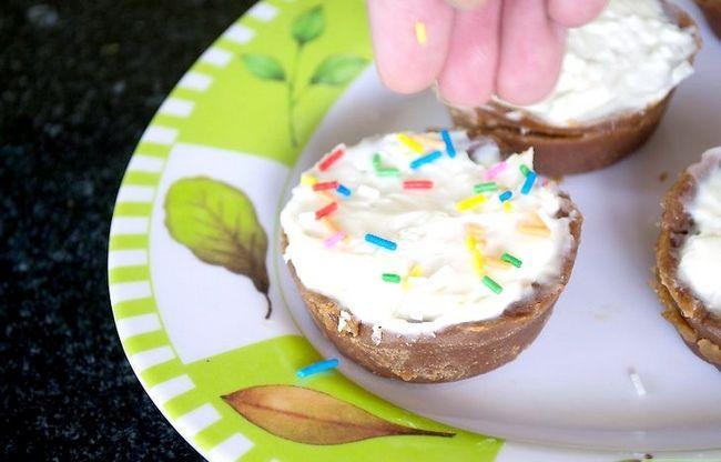 Prent getiteld Cream Cheese Tarts Stap 6