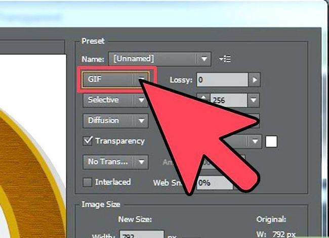 Prent getiteld Maak Adobe Illustrator Background Transparant Stap 3