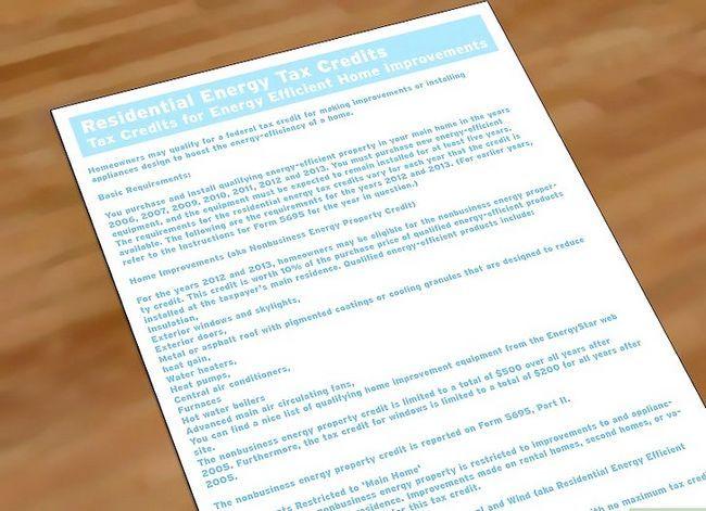 Prent getiteld Maak jou huis Energie-doeltreffende Stap 10