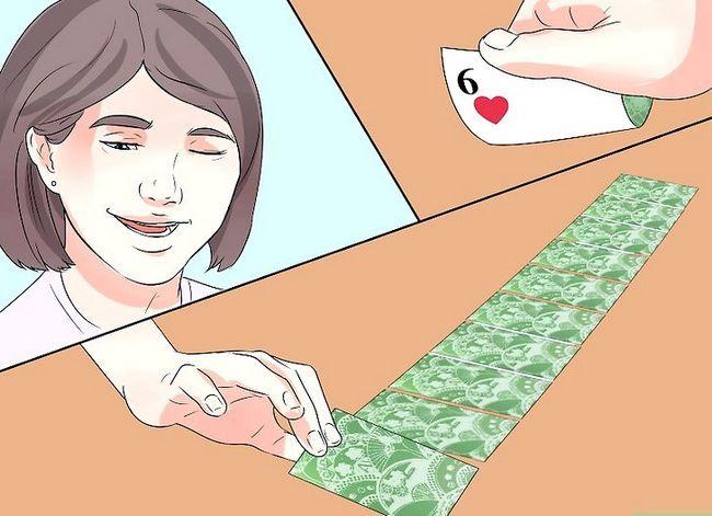 Prent getiteld Doen jou eerste kaart truuk Stap 6
