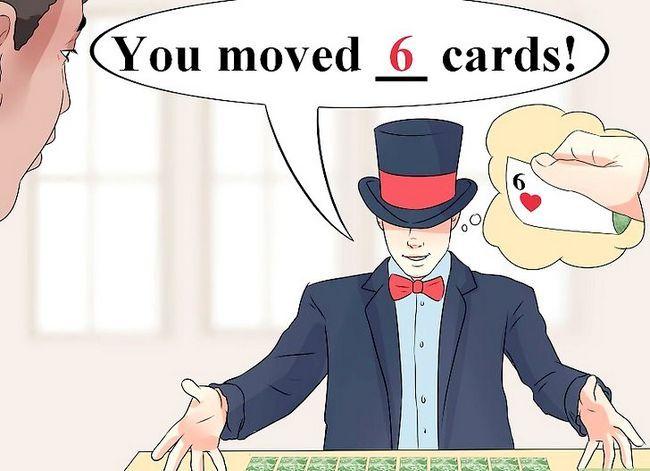 Prent getiteld Doen jou eerste kaart truuk Stap 7