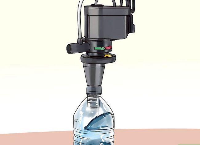 Prent getiteld Maak jou eie onderwater akwarium filter Stap 28