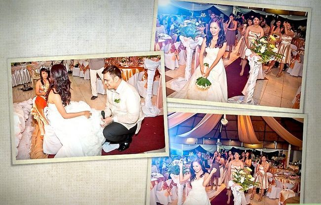 Prent getiteld Maak `n Storybook Wedding Album Stap 11
