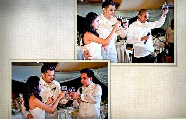 Prent getiteld Maak `n Storybook Wedding Album Stap 8