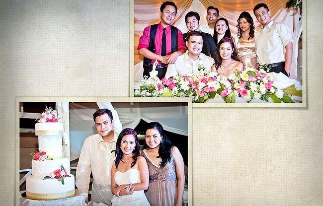 Prent getiteld Maak `n Storybook Wedding Album Stap 10