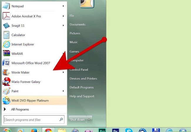 Prent getiteld Maak `n fotoalbum op Windows Movie Maker Stap 2