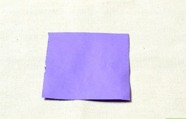 Prent getiteld Maak `n ring uit papier Stap 1