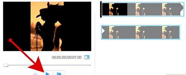 Prent getiteld Maak `n kommersiële gebruik van Windows Movie Maker Stap 5