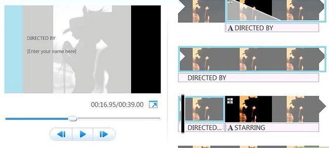 Prent getiteld `n kommersiële maak met behulp van Windows Movie Maker Stap 6