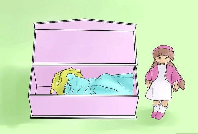 Prent getiteld Maak `n kamer vir jou Amerikaanse Girl Doll Stap 8