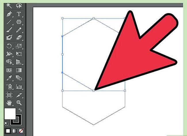 Prent getiteld Maak `n kubus in Adobe Illustrator Stap 12