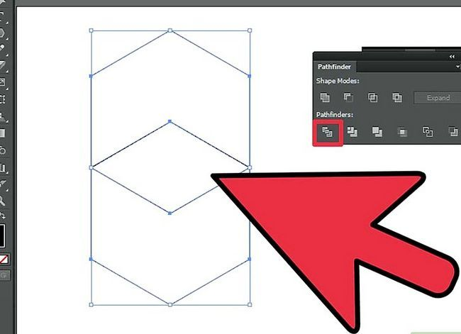 Prent getiteld Maak `n kubus in Adobe Illustrator Stap 13