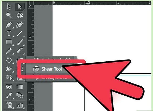 Prent getiteld Maak `n kubus in Adobe Illustrator Stap 3