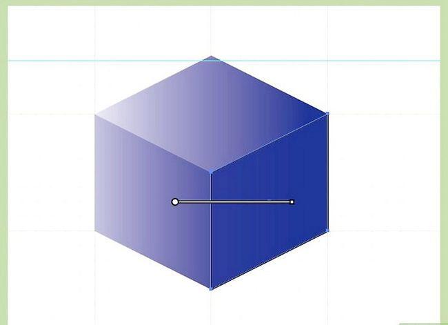 Prent getiteld Maak `n kubus in Adobe Illustrator Stap 7