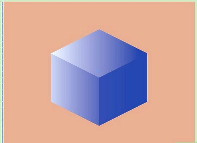 Prent getiteld Maak `n kubus in Adobe Illustrator Stap 8