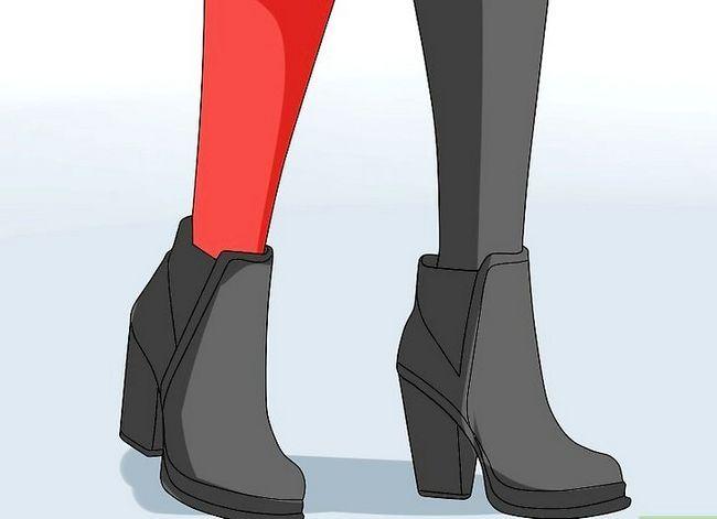 Prent getiteld Maak `n Harley Quinn Kostuum Stap 13