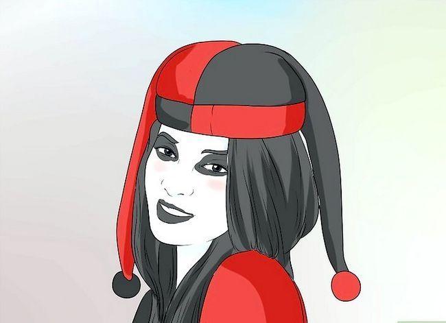 Prent getiteld Maak `n Harley Quinn Kostuum Stap 15