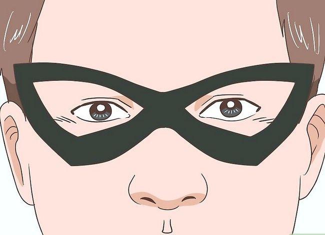 Prent getiteld Maak `n Robin Kostuum Stap 7