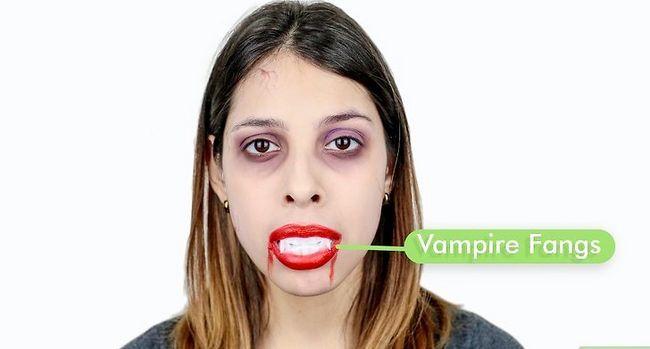 Prent getiteld Maak `n vampierkostuum Stap 12