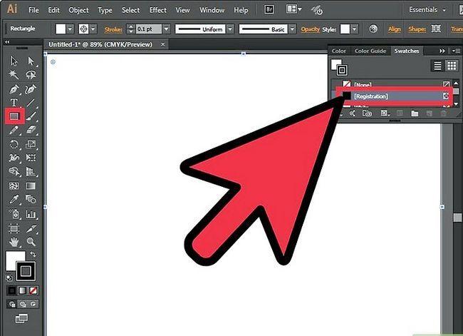 Prent getiteld Maak `n brosjure in Adobe Illustrator Stap 2